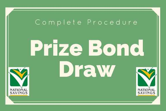 Prize bond claim procedure