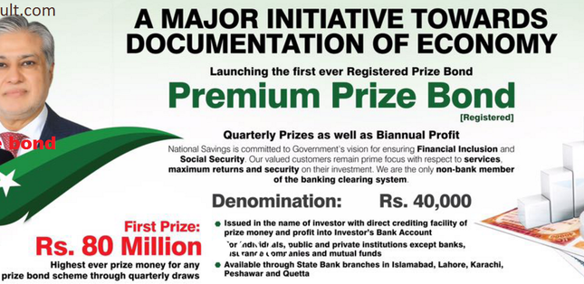 registered Premium Prize Bond